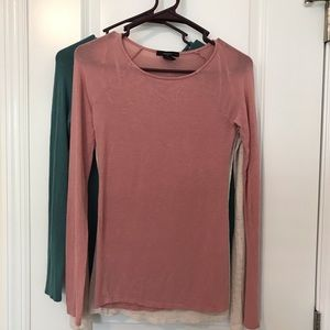3- Forever 21 (Layering Tops) ALL 3 for one price!